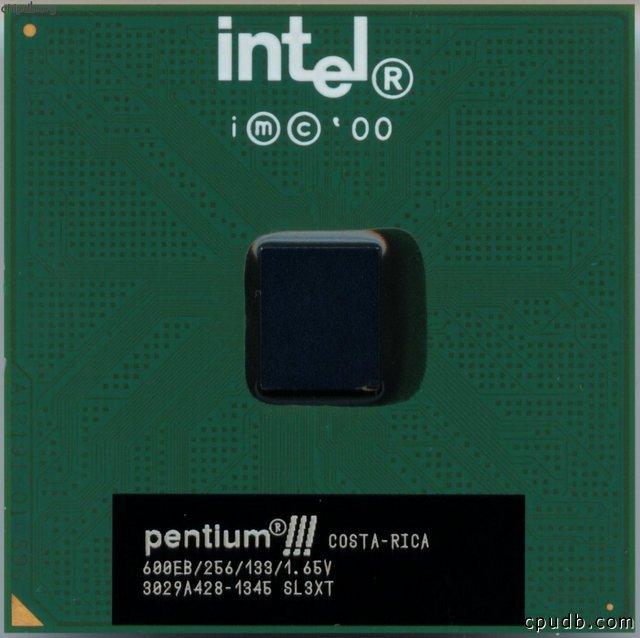 Intel Pentium III – Kylskåpsmagnet