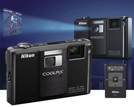 Nikon S1000PJ med inbyggd projektor