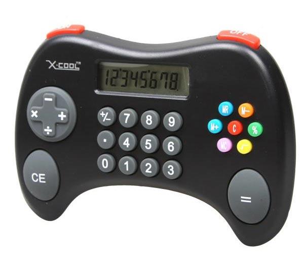 X-Cool Kalkylator, för tv-spelsnörden