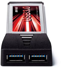 USB 3 portar i din ExpressCard port