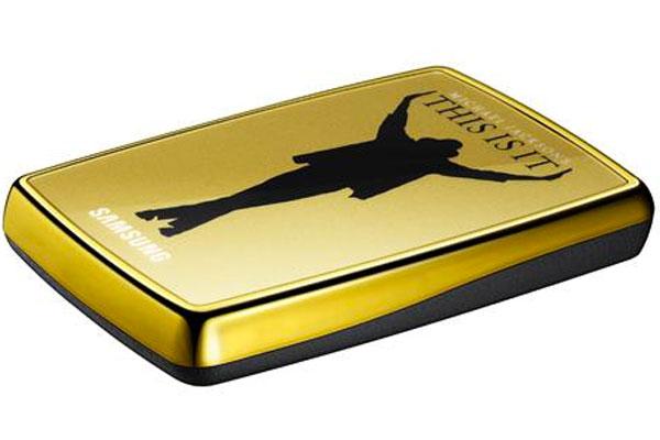 Samsung Michael Jackson Guld Hårddisk
