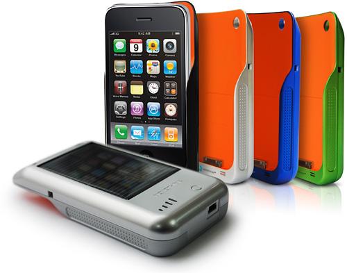 Ladda din iPhone med solljus