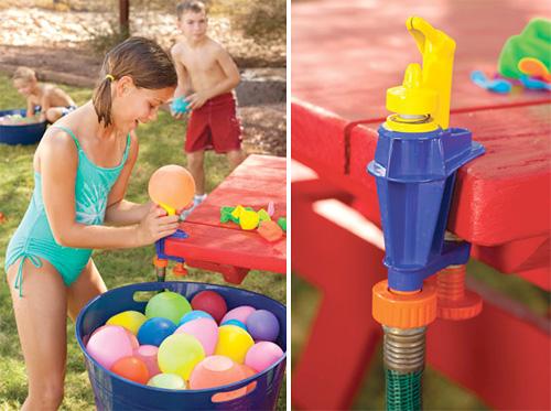 Gillar du att leka med vattenballonger?