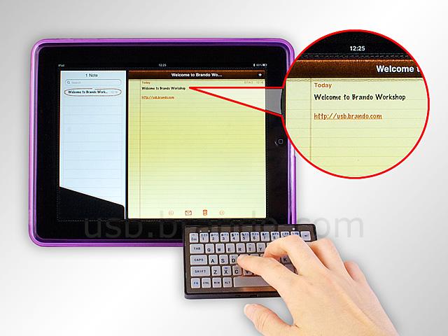 Externt tangentbord till dig med Apple iPad