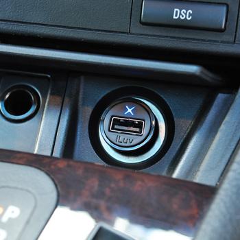 Smidig USB-laddare för bilen