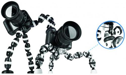 Fotopro RM-110 det flexibla foto-stativet