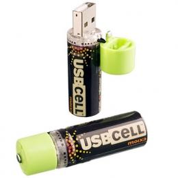 Ladda dessa AA-batterier i USB-porten