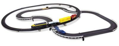 Korsande bil- och tågbana