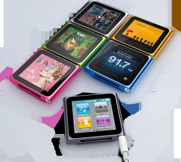 Nya iPod Nano