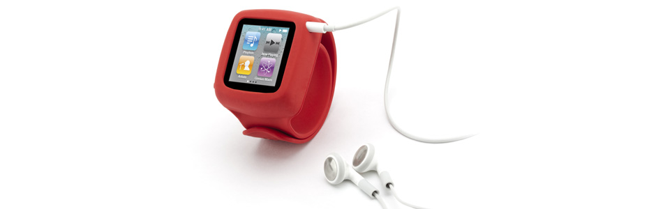 Bär din iPod Nano som klocka