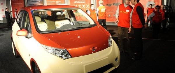 Ny rysk Hybridbil vid namn Yo