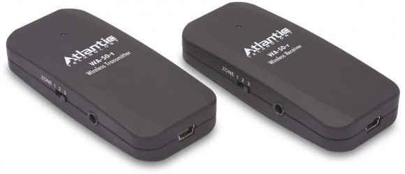 Atlantic Technology WA-50 ger dig trådlös ljudöverföring