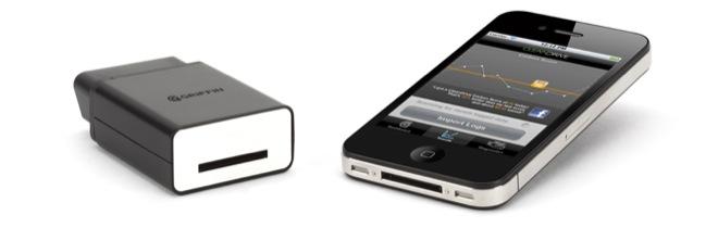Griffin CarTrip kopplar din iPhone till bilen genom ODB-II