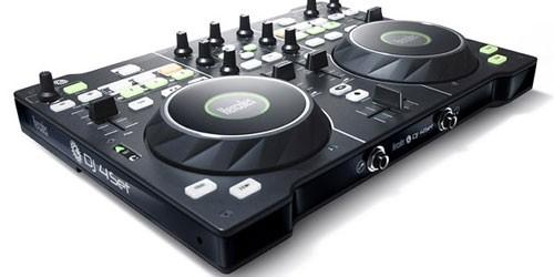 Hercules DJ 4Set ett DJ-mixerbord