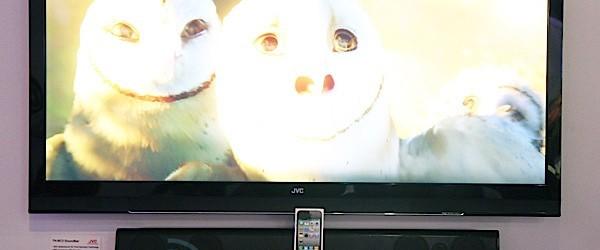 JVC visar upp 50-tums 21:9 fullHD 3D-TV