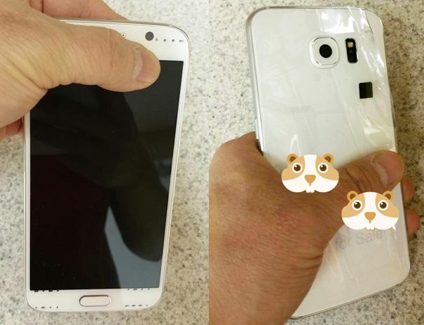 Bilder på Samsung Galaxy S6 läckta