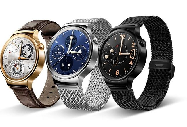 Huawei Watch, en rund smartwatch