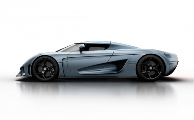 Koenigsegg Regera, el-hybrid och ingen växellåda