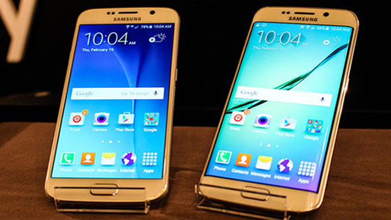 Samsung Galaxy S6 och Galaxy S6 Edge nu officiella