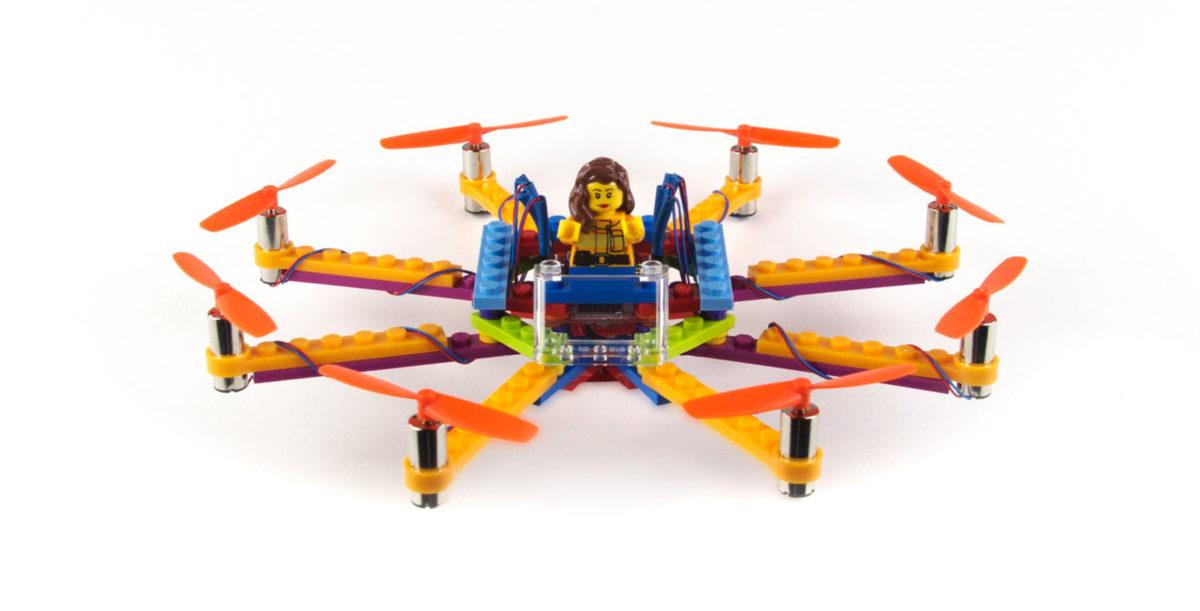 Drönare i Lego