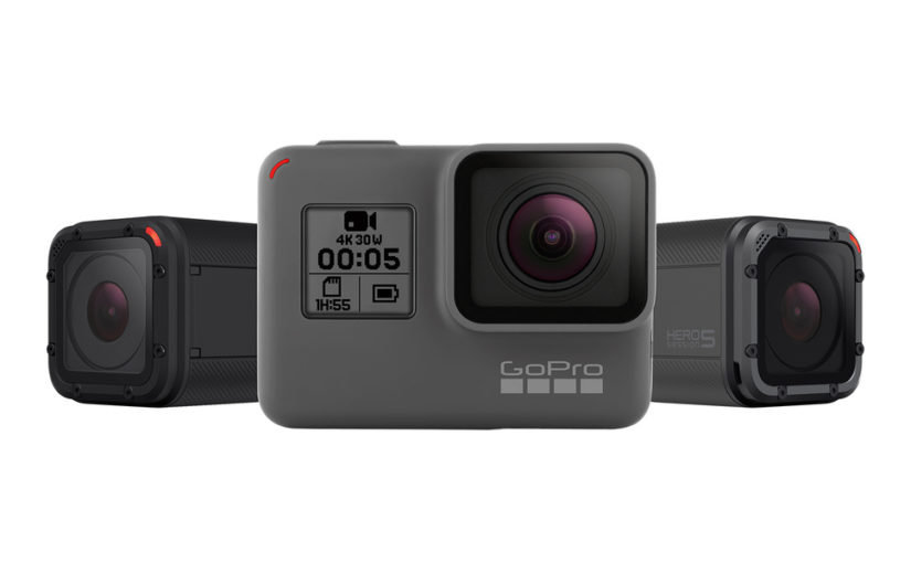 GoPro Hero 5 Black Edition och Session